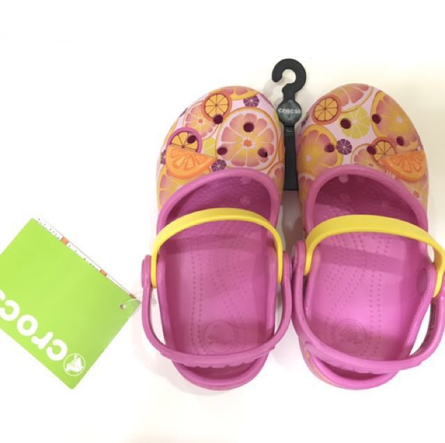 Authentic Girls/Kids Crocs Karin Clog
