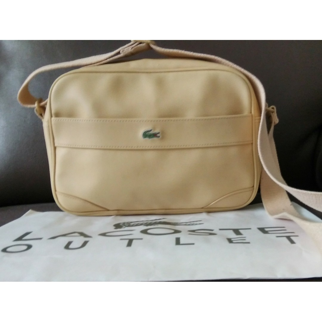 baf3413846 Authentic LACOSTE Sling Bag for SALE, Women's Fashion, Bags ...