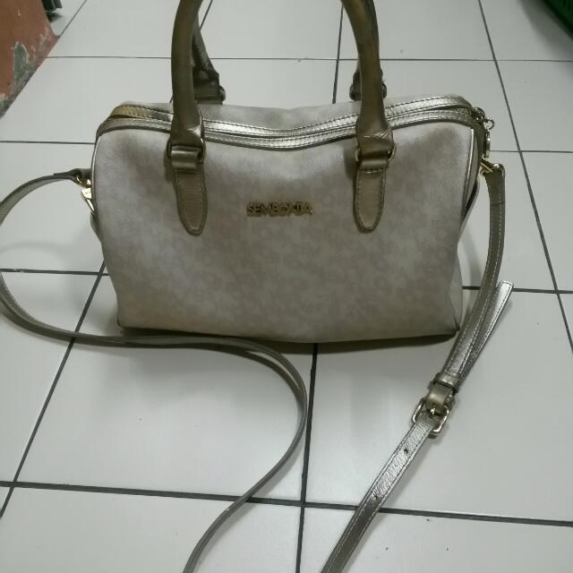 Authentic Sembonia Hand/shoulder Bag