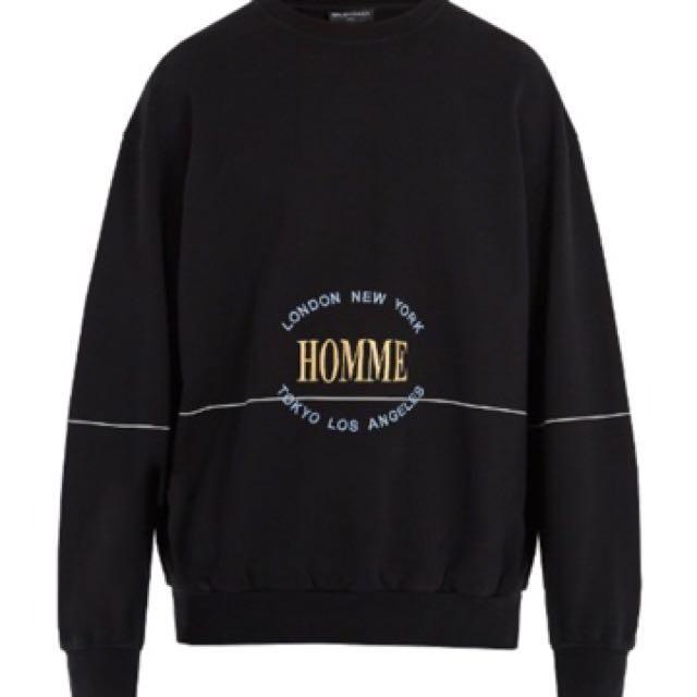 pas mal 27079 b408a Balenciaga Homme Sweater on Carousell