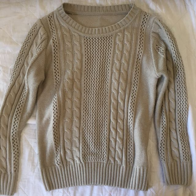 Beige/nude/cream Sweater/jumper