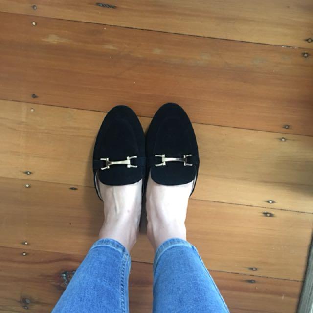 Black Boohoo shoes