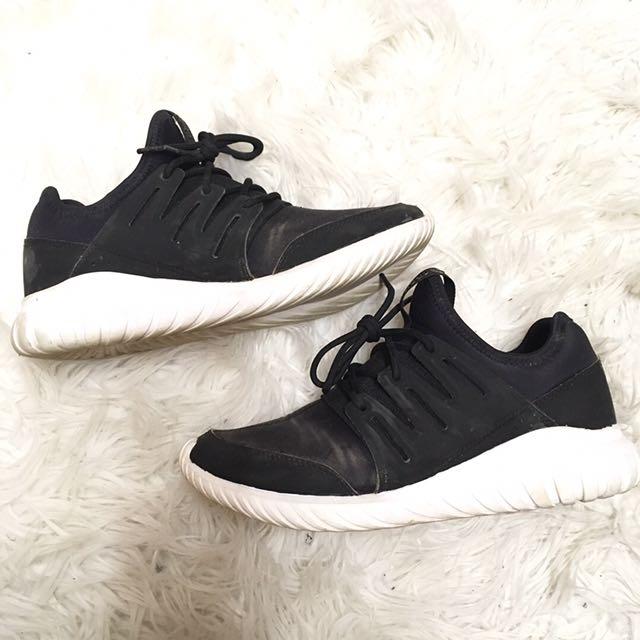 Black Tubular Adidas Shoes