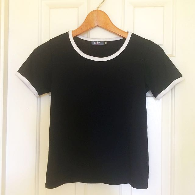 Black White T Shirt