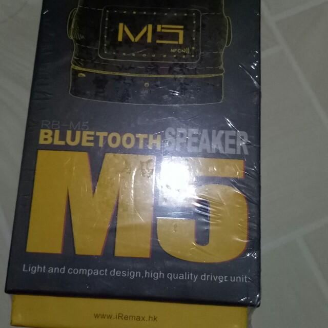 BLUETOOTH speaker M5