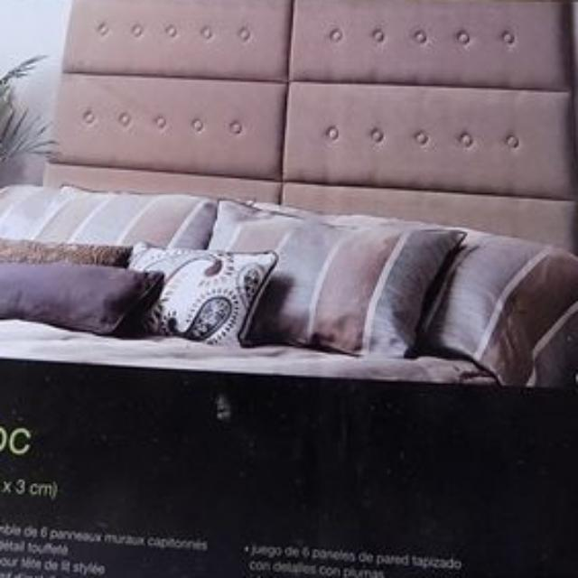 Bnib Upholstered Wall Panels / Headboard