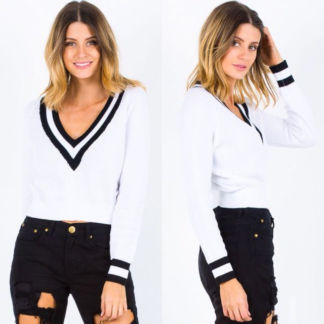 BNWT Crop Sweater