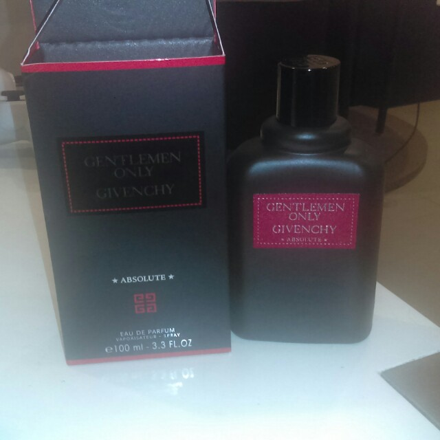 Brand new givenchy gentleman only absolute