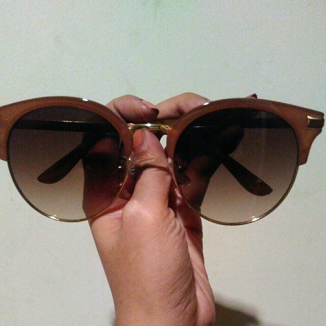 Brown and golden sunnies