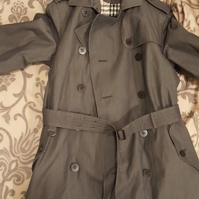 【Burberry】經典必備風衣外套 兩層可拆