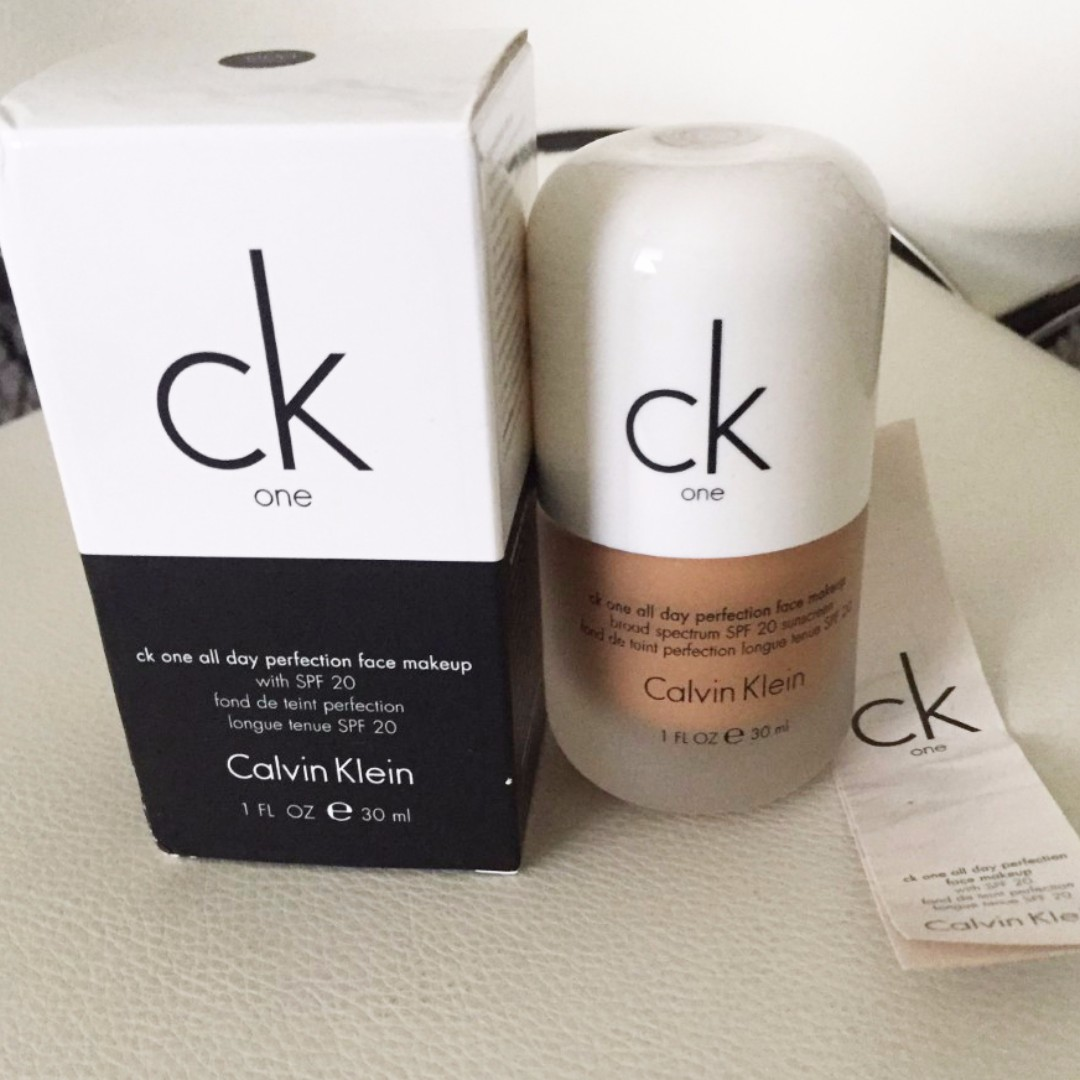 Calvin Klein all day perfection foundation (Brand new )
