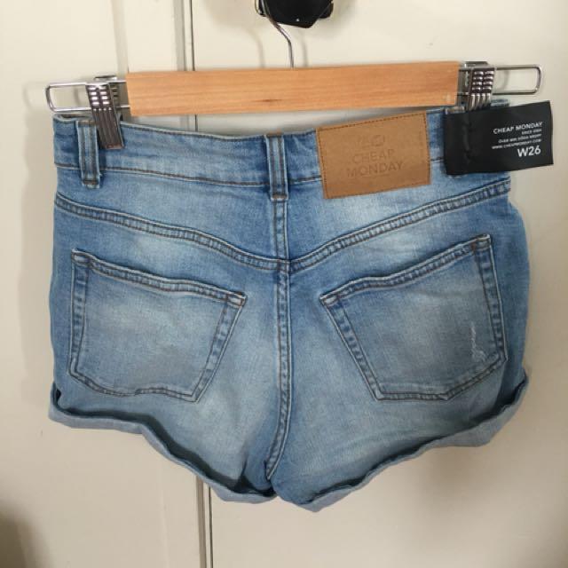 Cheap Monday shorts brand new