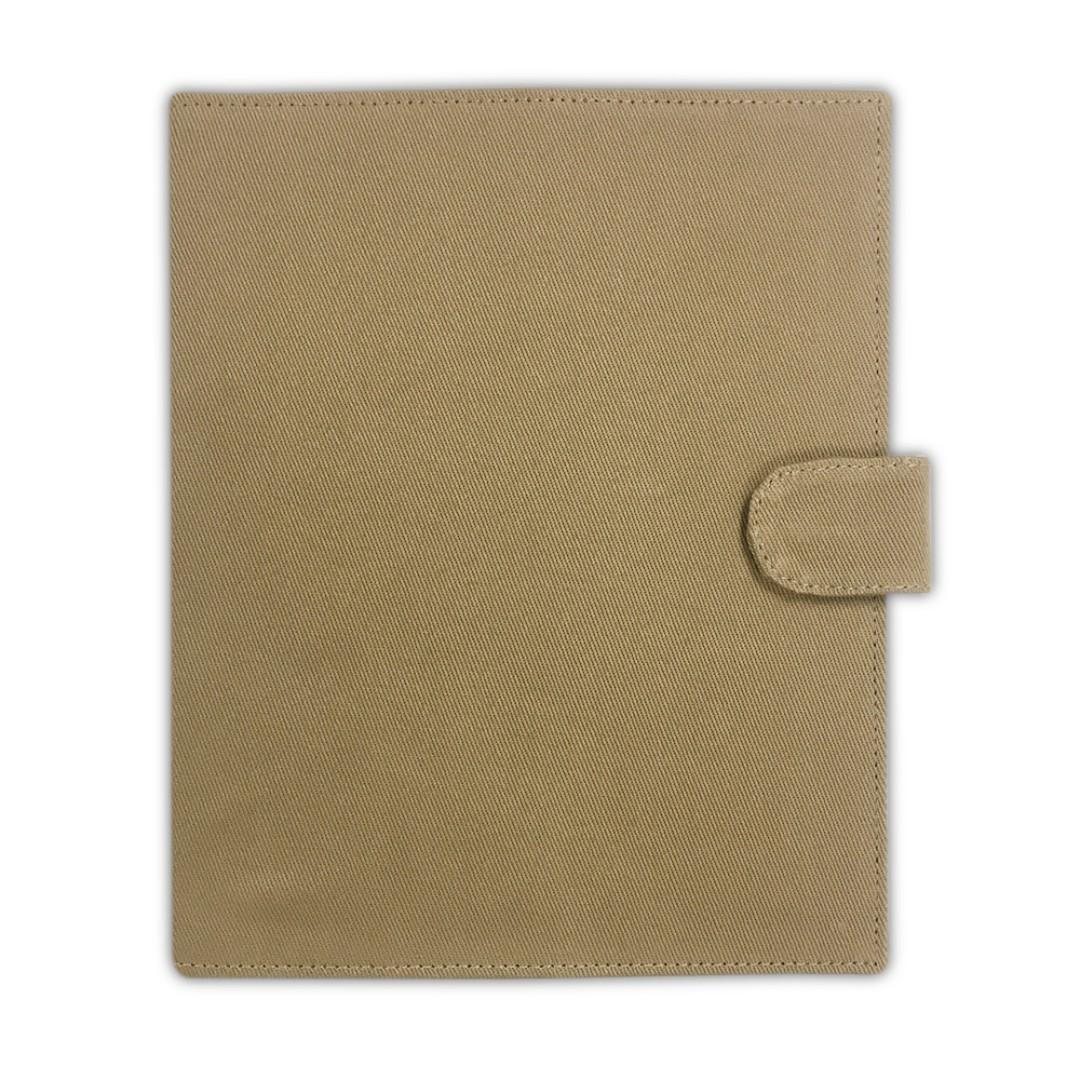 [CHRISTMAS EDITION] Handmade A5 Journal Cover (Light Brown)