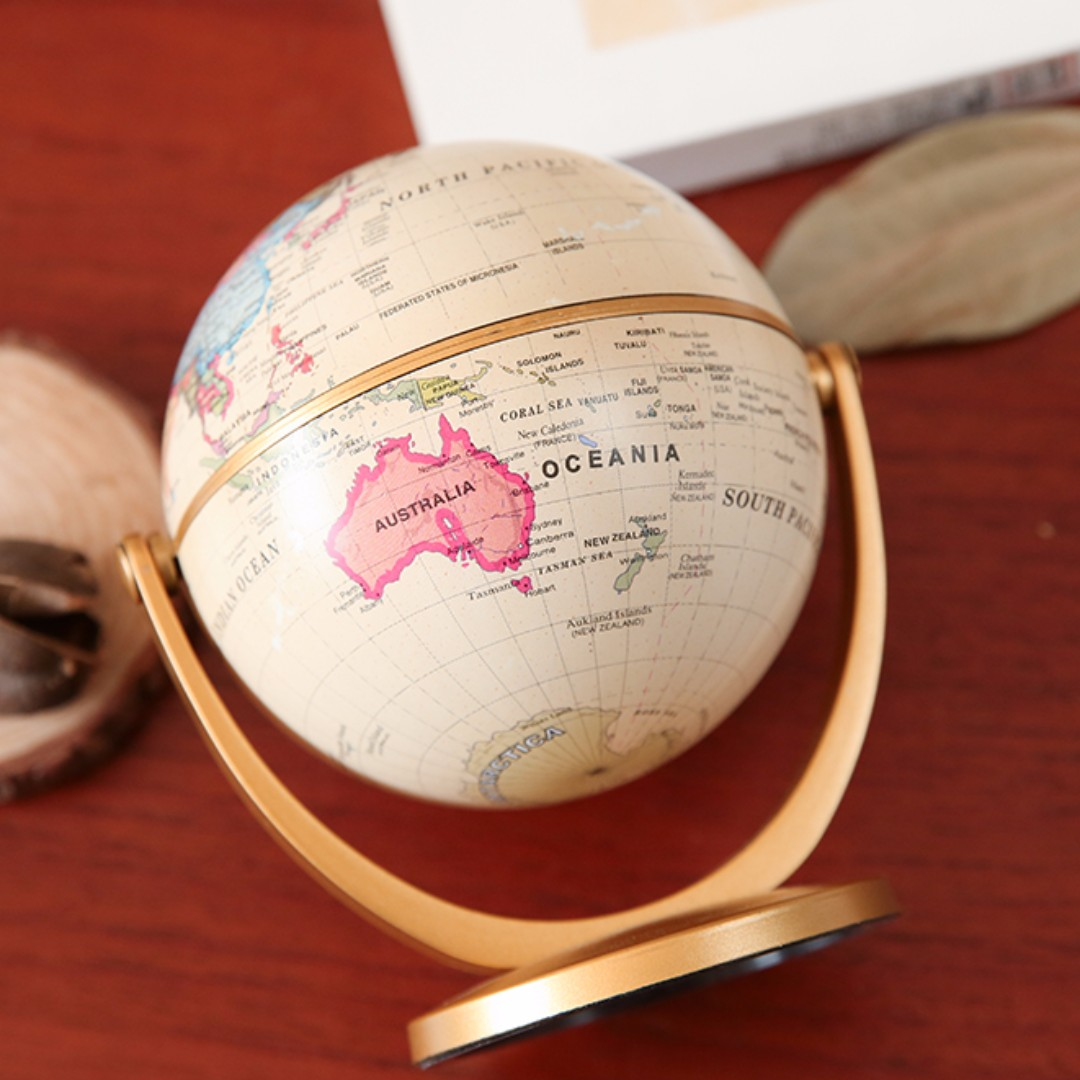 Classic Vintage Globe for Home and Office Decor
