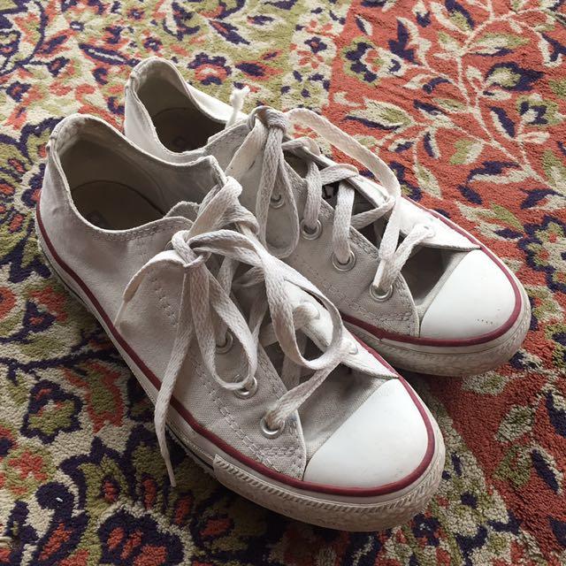 CONVERSE White Size 36.5