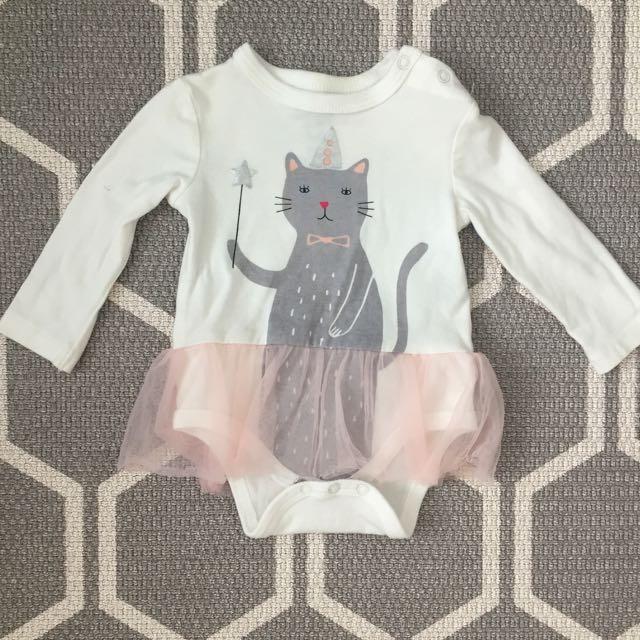 Cotton On Cat Tutu Romper
