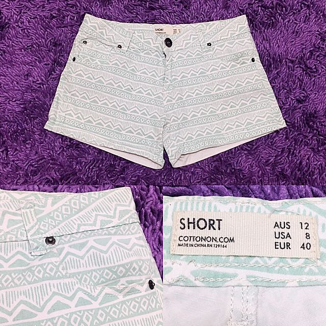 COTTON ON Green Tosca Shorts