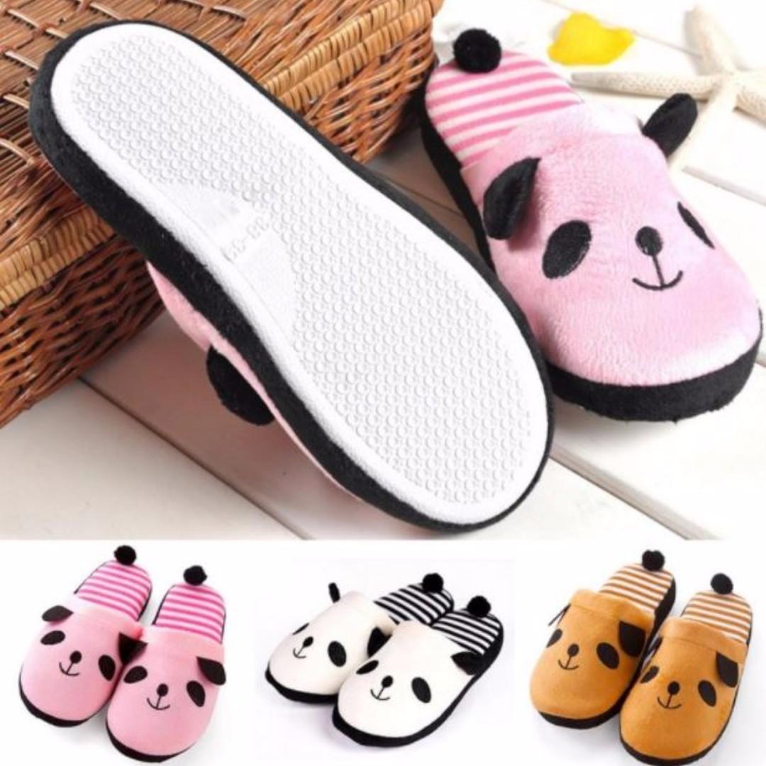 Cute Panda Slippers