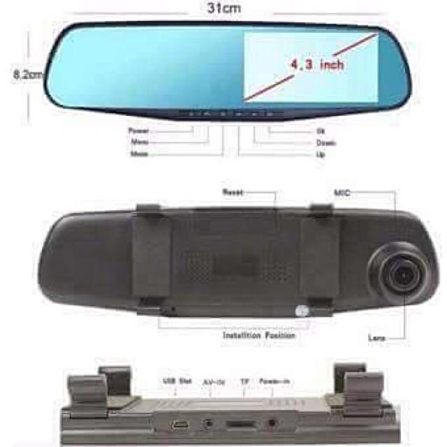 Dash Cam Dual Can