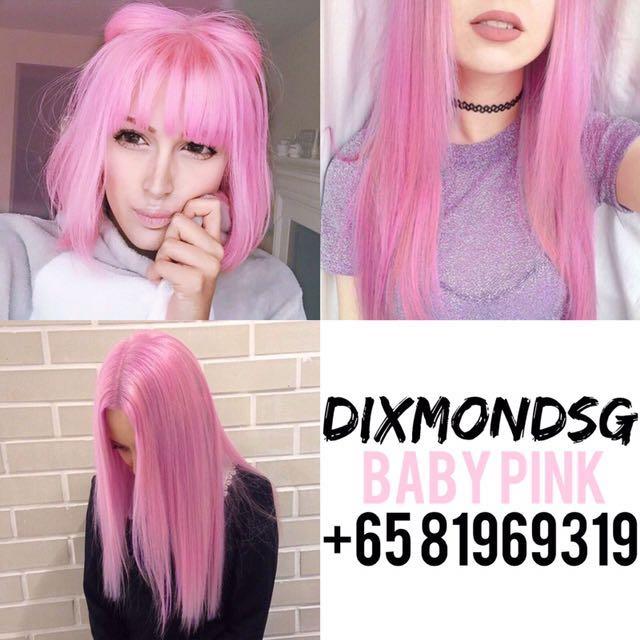 DIXMONDSG BABYPINK HAIR DYE