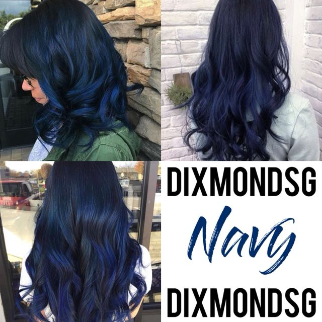 DIXMONDSG NAVY HAIR DYE