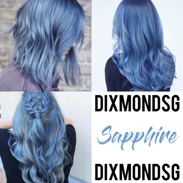 DIXMONDSG SAPPHIRE HAIR DYE