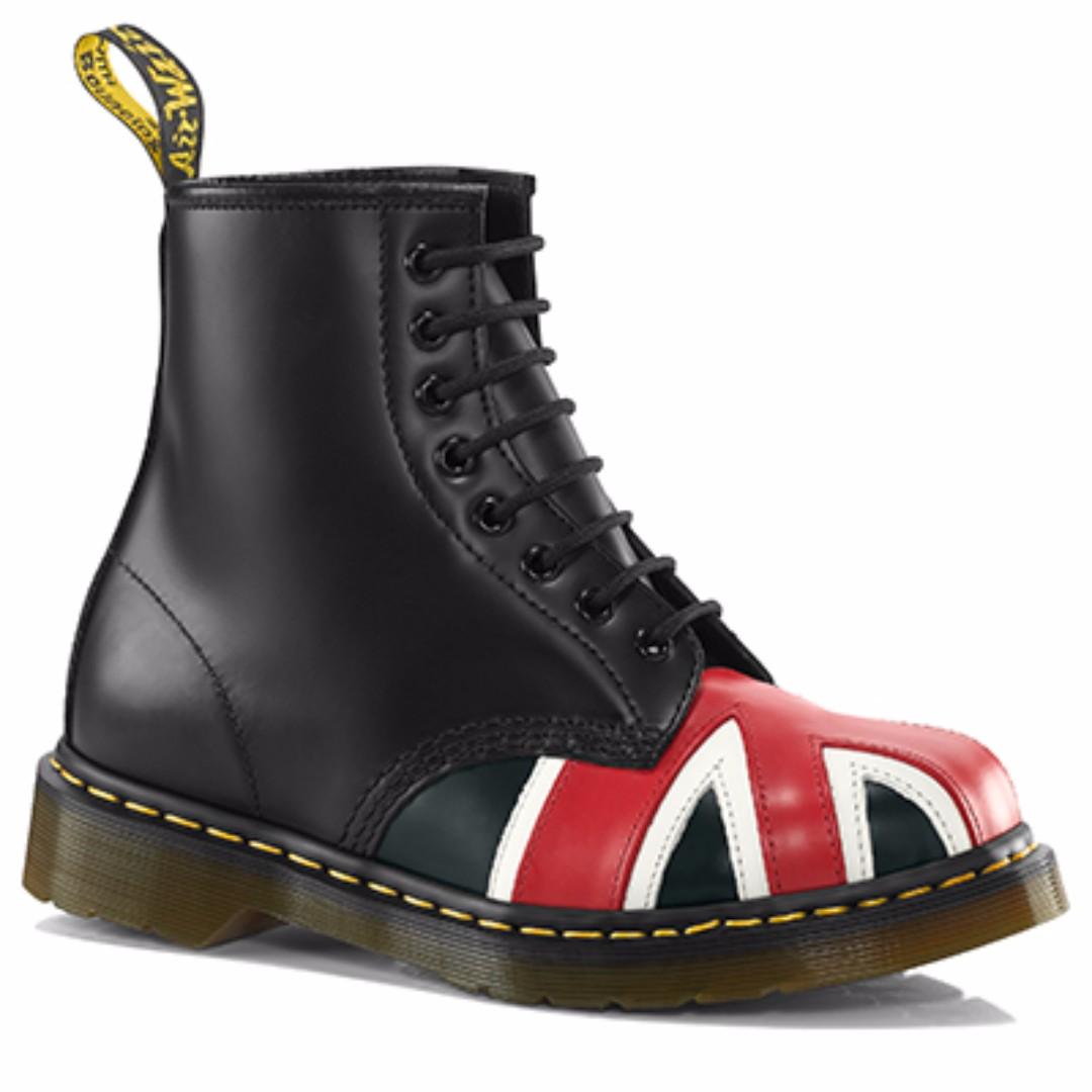 Dr Martens Union Jack boots 7