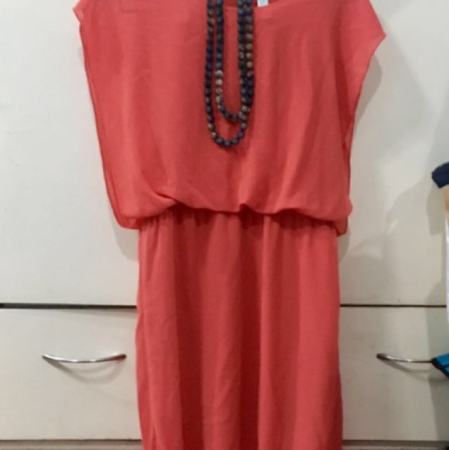 Dress Orange Tango
