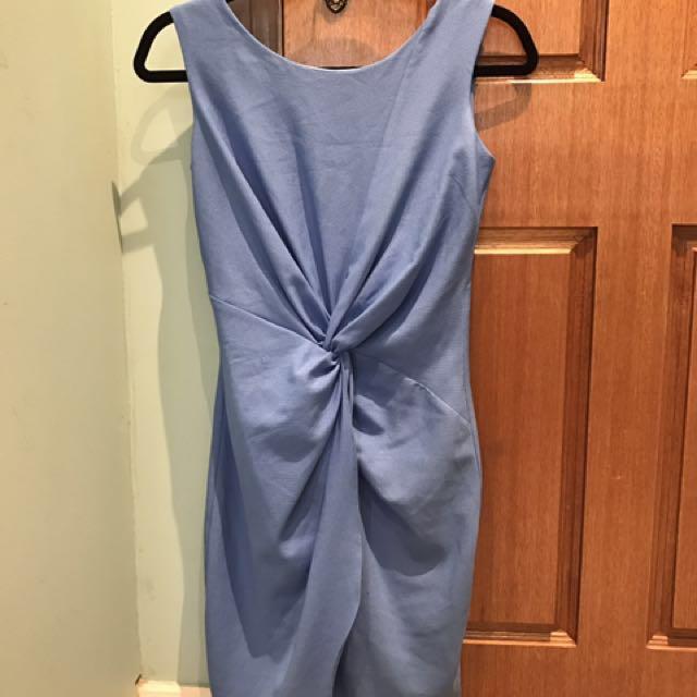 Elegant Forcast blue dress size 6