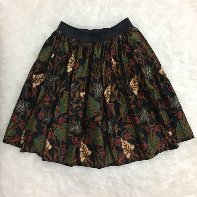 Flare Brown Skirt
