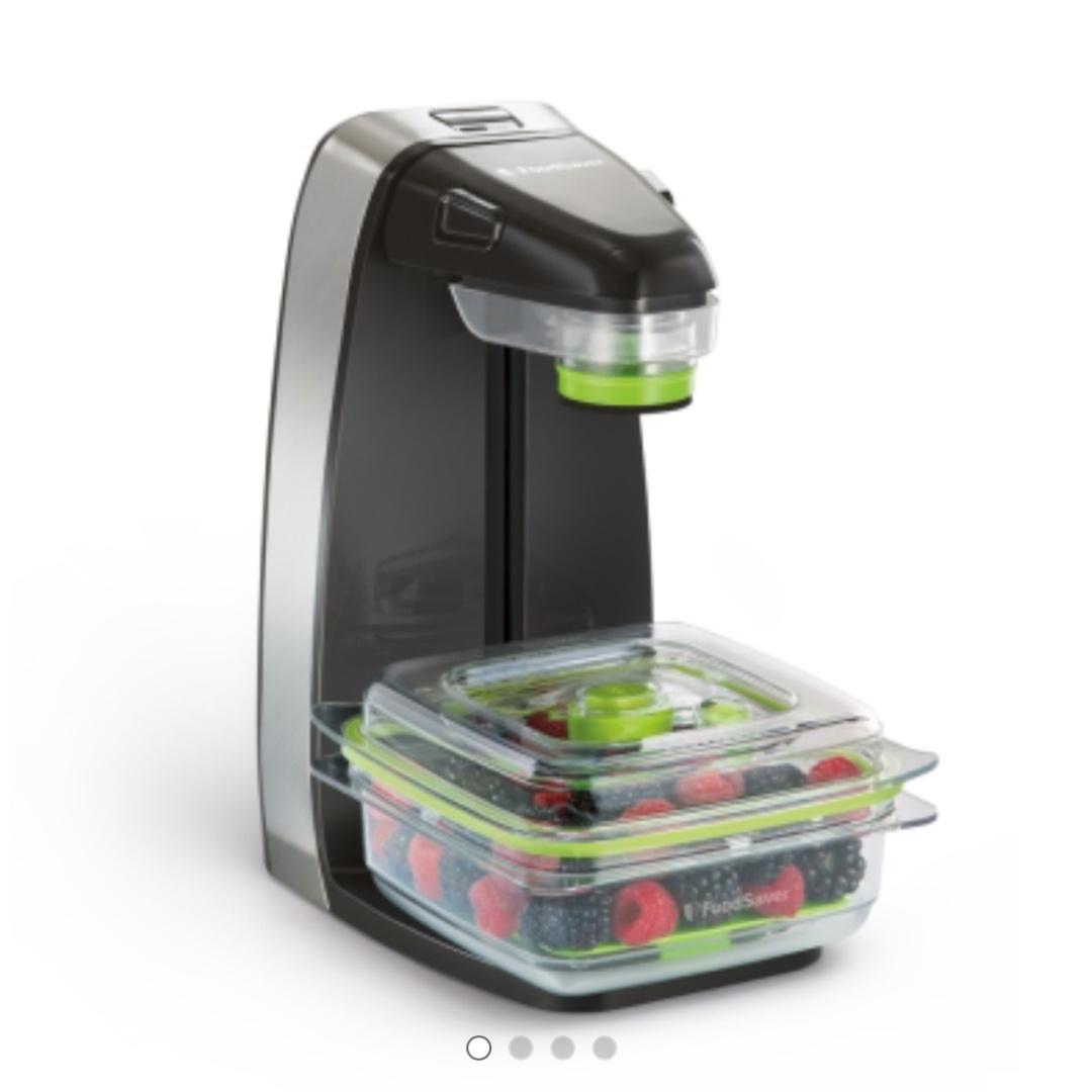 美國FoodSaver 輕巧型真空密鮮器FM1200 全新未使用