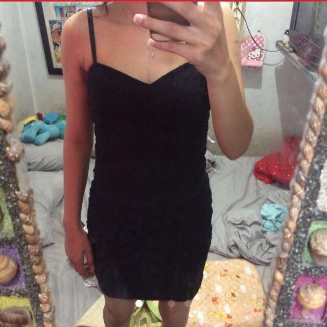 Forever XXI black dress