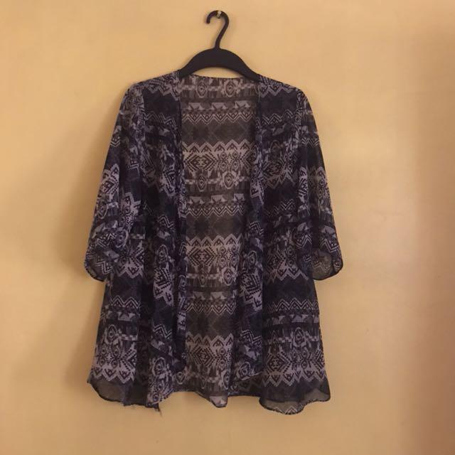Freesize kimono