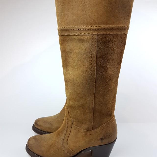 FRYE  Jane Stitch Leather size 5.5