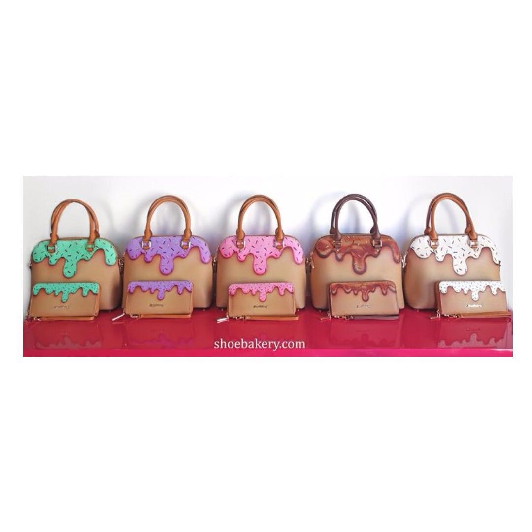 Genuine Shoe Bakery Sprinkle Collection Bowler Bag