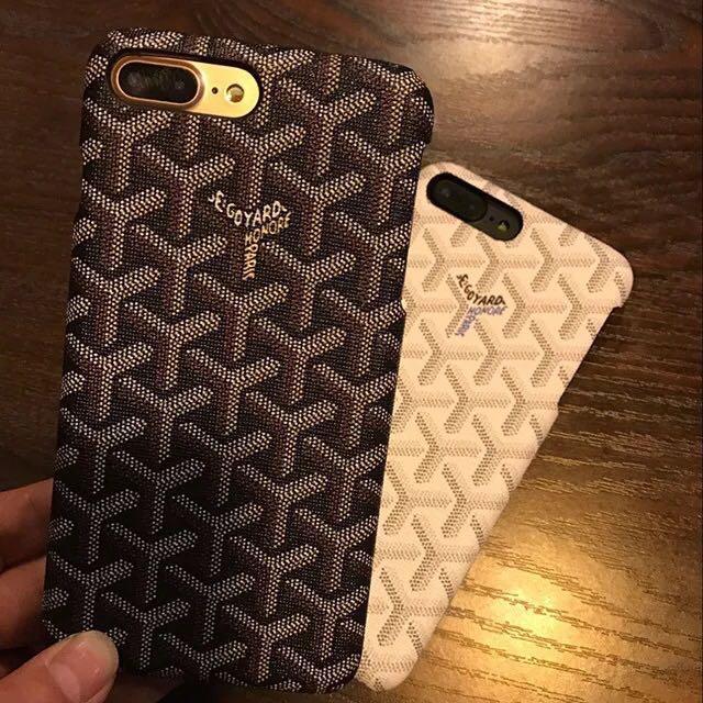 brand new d14d6 18c1f Goyard iphone 8 case