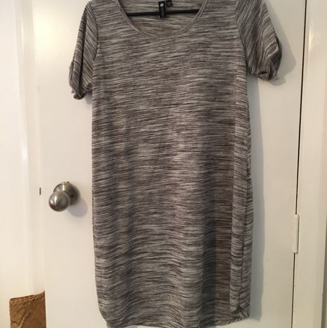 Grey cotton on tshirt dress. Size small