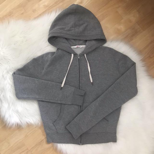 Grey hoodie - Size S