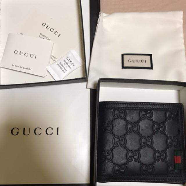 d0b5fd61e6d Gucci Leather Wallet