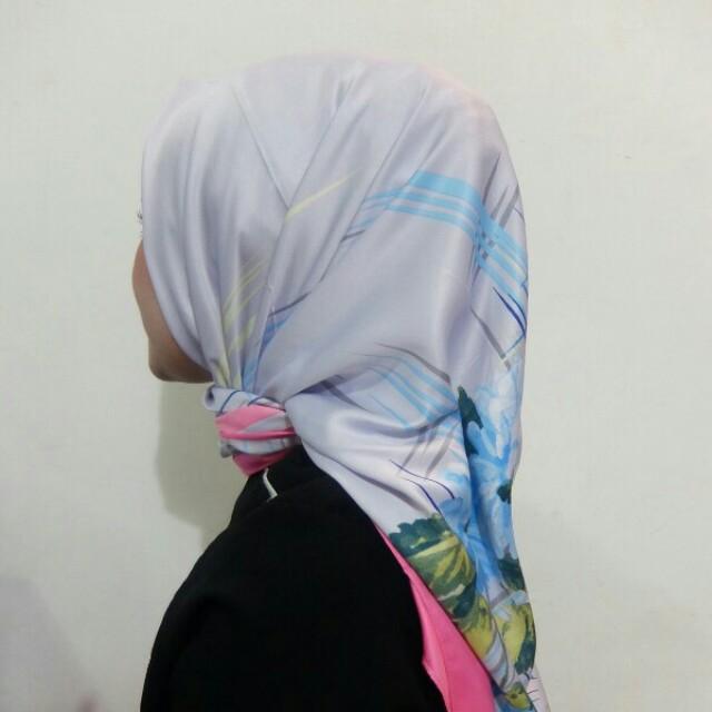 Hijab satin lamiz