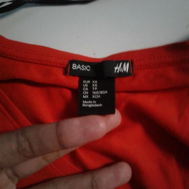 h&m basic tee