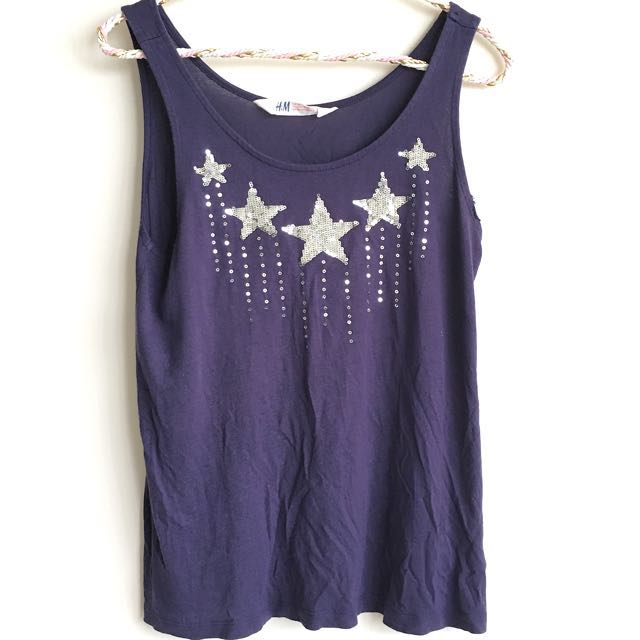 H&M Star Top