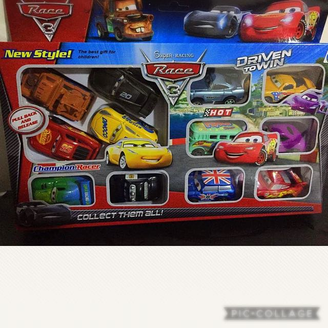 Hot Race Cars (12pcs)