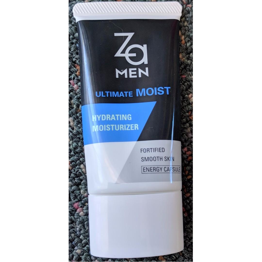 Hydrating moisturizer ZA for man