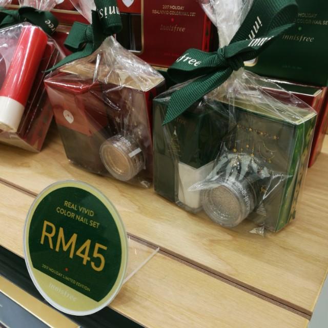 Innisfree Christmas Edition Nail Colour Set
