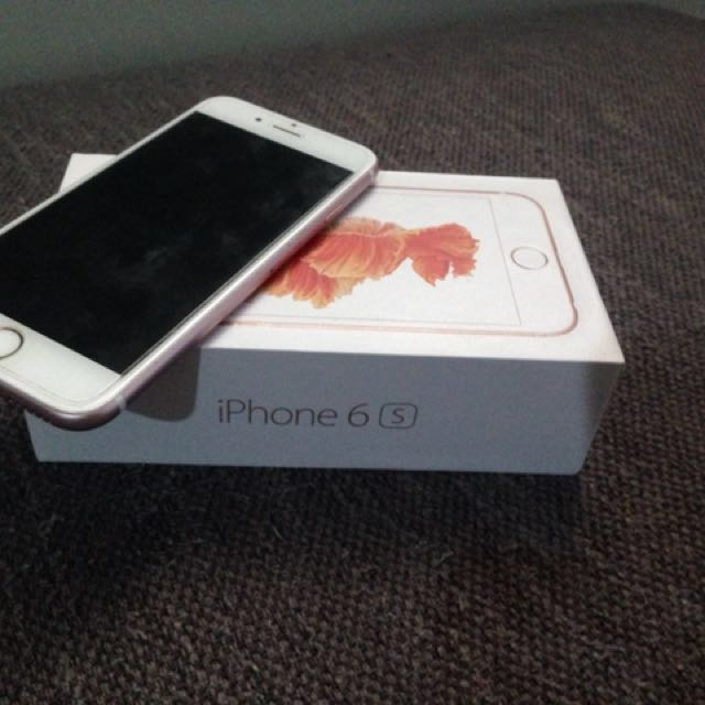 Iphone 6s rosegold 16gb
