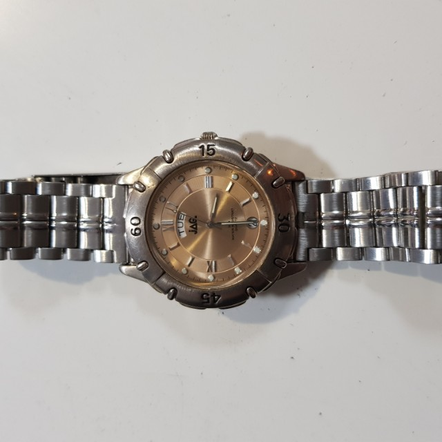 JAG mens stainless steel watch