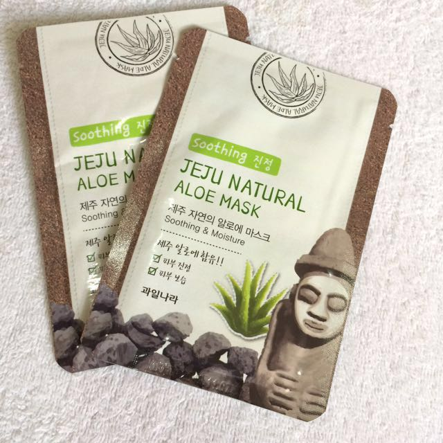 Jeju aloe mask