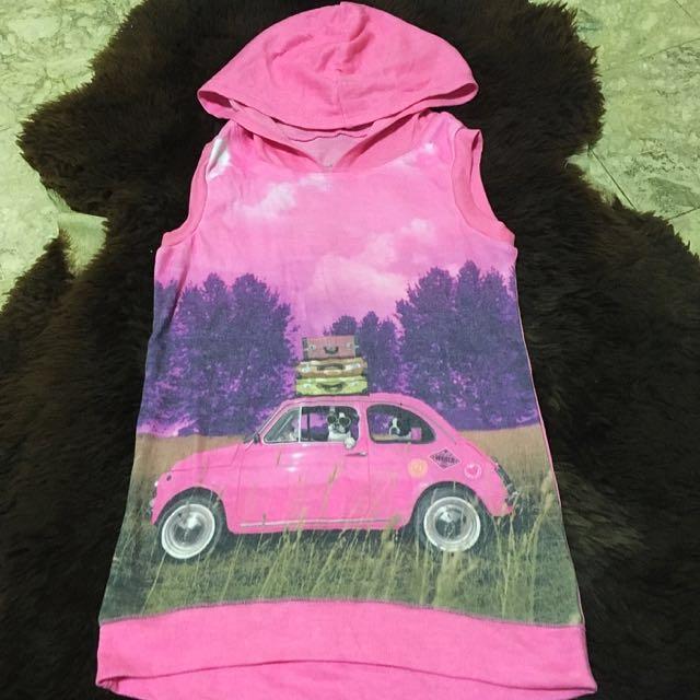 Justice Pink VW Top