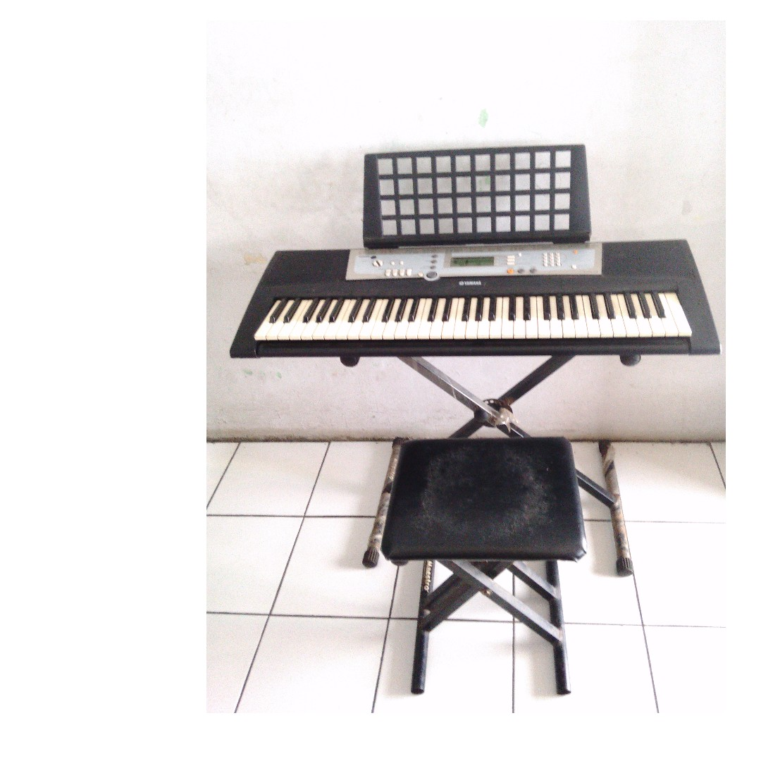 Keyboard Yamaha PSR-E203 & Amply Keyboard Second